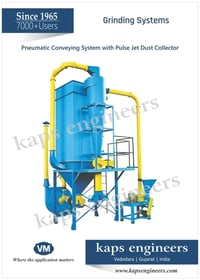 Best Quality Pneumatic Conveying System With Pulse Jet Dust Collector