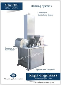 Heavy Duty Bulk Drug Grinding Machine