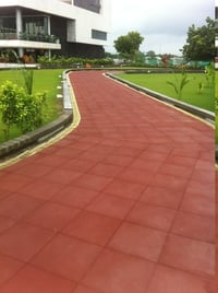 Rubber Tiles For Jogging Track