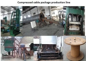 Wooden Cable Reel Machine