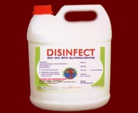 Disinfect BKC 50% with Glutaraldehyde