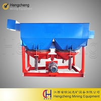 Mineral Jig Machine For Gold Processing