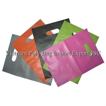 Colorful Die Cut Handle Bag