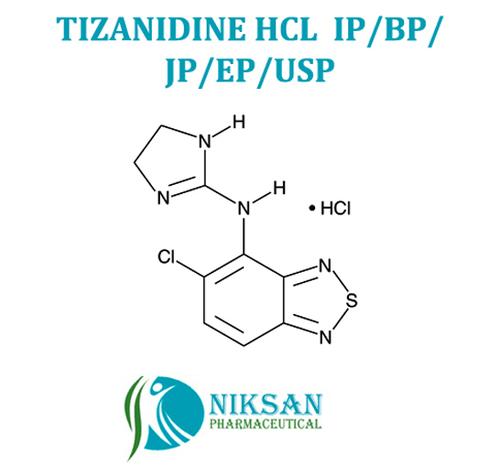 Tizanidine Ip/Bp/Usp/Ep