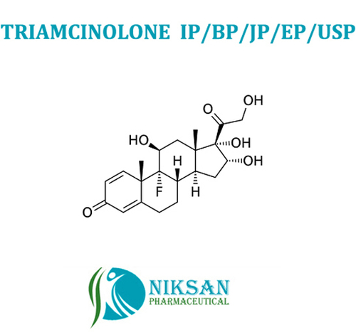 Triamcinolone Ip/Bp/Usp/Ep