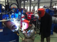 Piping Automatic Welding Machine (FCAW/GMAW)