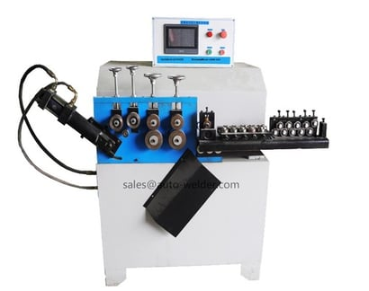 Automatic Wire Ring Making Machine