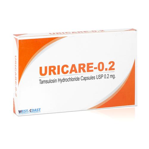 Uricare (Tamsulosin Hydrochloride Capsules Usp 0.2 Mg)