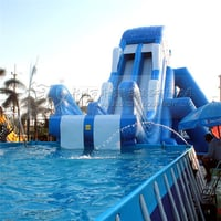Professional Custom Inflatable Water Park Games