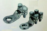 Punched Copper Cable Lugs (2 Bolts)