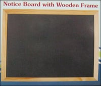 Notice Boards With Wooden Frame