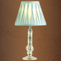 Glass Candle Stick Table Lamp