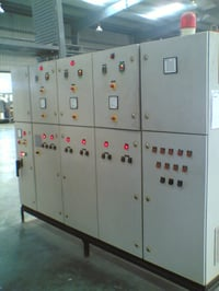 Control Panel For Tube Push Pointing Machines