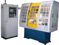 CNC Profile Turning and Burnishing Machine With Integral Spindle