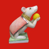 Marble Mouse Statue