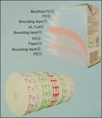 Aseptic Paper, AL and PE Laminated Packaging Materials