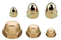 Brass Dome Nuts Acorn Nuts