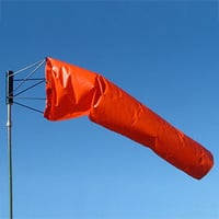 Parachute Polyester Cloth Wind Sock