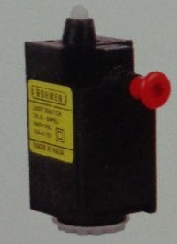 PL Series Limit Switches (Push Plunger with Lock and Reset Knob)