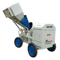 Hydraulic Concrete Mixer With Digital Weighing Systems