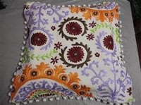 Designer Suzani Cushion Cover