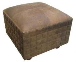 Quilted Ottoman