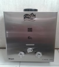 Stainless Steel 6L Gas Geysers