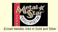 Eckart Metallic Inks in Gold and Silver