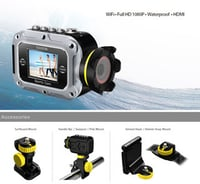 Full HD 1080P Underwater Sports Camcorder