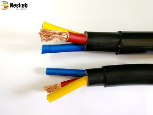 Round Submersible Pump Cable