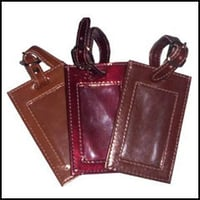 Leather Baggage Tags