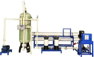 6000 LPH Automatic RO System