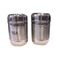 Stainless Steel Tea Sugar Canister