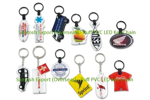 Puffed Led Key Chain