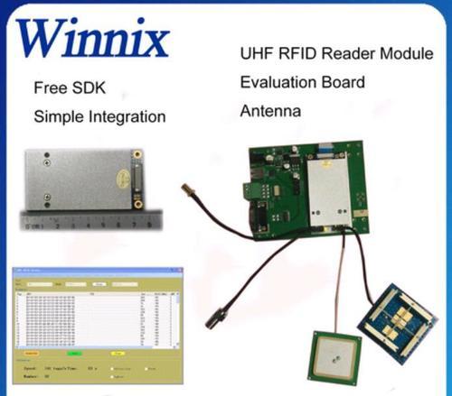 4 Port Long Range Impinj R2000 UHF RFID Reader Modules in Shenzhen