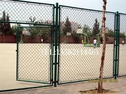 Chain Link Fencing Gate