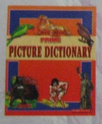 Picture Dictionary Book For UKG