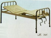 Full-Fowler Bed With Stainless Steel Head/Foot Board