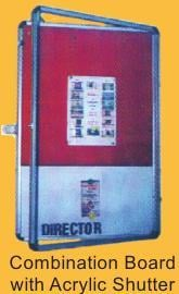 Combination Board With Acrylic Shutter