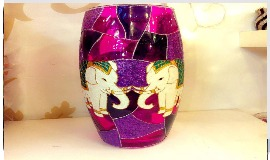 High Lift Glass Vase