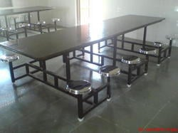 Industrial Dining Table With Granite Top