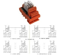 2 Changeover Relay Modules