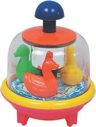 Push And Spin Duck Toys