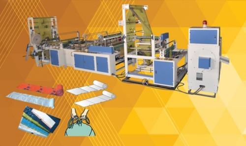 Automatic Multifunctional Side Sealing Heat Cutting Machine