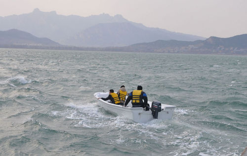 Liya 8men Fiberglass Boat For Fishing With Engine
