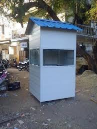 Portable Pvc Security Cabin