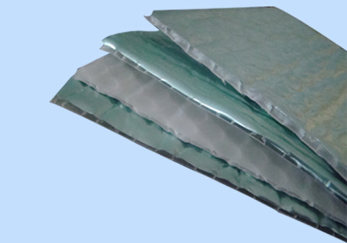 Double Sided Fireproof Bubble Wrap Heat Insulation