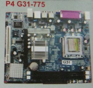 Mother Boards (P4 G31-775)