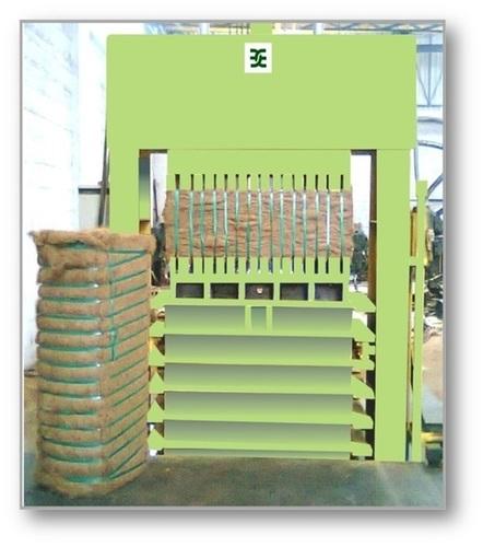 120 Kg Coir Fiber Baling Machine