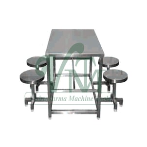 Dining Table For Canteen And Restaurant